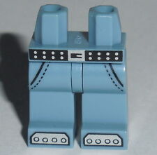 LEGS 004 Lego Sand Blue w/Silver Belt Rivets and Steel Toe Boots Boy Girl 71010