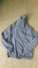 Grey womens fleece high neck zip jacket BNWOT free post D51