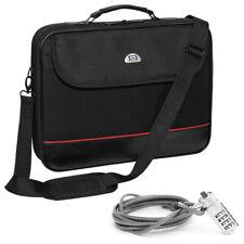 """NOTEBOOK Laptop TASCHE 15"""" Zoll 15,6 (39,6cm) NOTEBOOKTASCHE + Notebookschloss"""