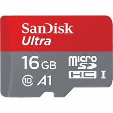 SANDISK ULTRA A1 MICRO SDHC  98MB/s 16 GB FLASH MEMORY CARD  NEW st UK