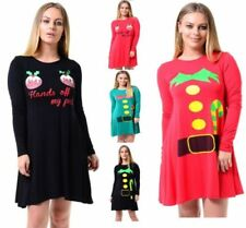 Christmas Special Occasion Round Neck Dresses for Women