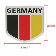 1X Germany Flag Aluminum Sticker Auto Car Body 3D Logo Emblem Badge Decal