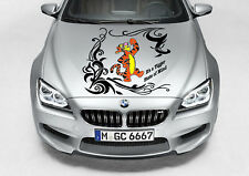 TIGGER TRIBAL DECAL WINNIE THE POOH VINYL GRAPHIC HOOD SIDE CAR TRUCK