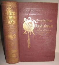 AMERICAN INDIAN WARS US ARMY Cavalry CUSTER old west FRONTIER GUIDES SOLD $1,125