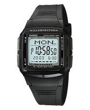 Casio Classic Watch * DB36-1AV Illuminator Databank Black COD PayPal