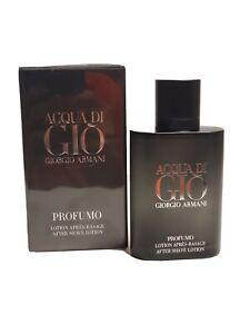 Armani Acqua Di Gio Profumo After Shave Lotion 100 ml 3.4 OZ Sealed, New