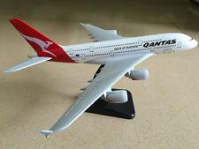 20CM Solid QANTAS Spirit of Australia A380 Passenger Plane Metal Diecast Model