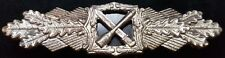 ✚7833✚ German Army Wehrmacht Close Combat Clasp in Silver post WW2 1957 pattern