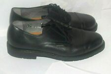 Mephisto Men's Cap Toe black  Oxfords Shoes Size 9.5 Black Leather France