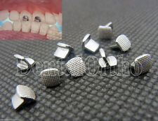 10x Dental Orthodontic Bite Turbos Lingual Button Buccal Tube Archwire Niti Coil