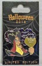 Disney Happy Halloween 2016 Jafar From Aladdin Stained Glass 3-D Pin LE 3000 NEW
