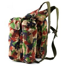 Genuine Swiss army backpack Switzerland Alpen Camo sniper rucksack w suspenders