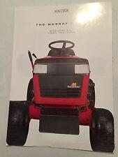 HAYTER Ride On  Lawn Tractor Murray Range Original 1980s Mowers Sales Brochure