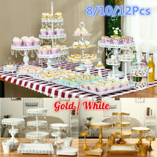 Vintage Metal Cake Holder Cupcake Stand Display Set Birthday Wedding Party   UK