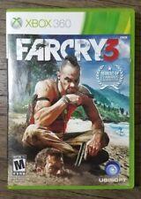 Far Cry 3 (Microsoft Xbox 360, 2012) Complete