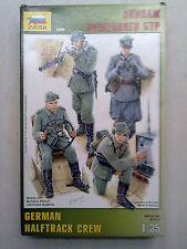 Zvezda 3585 German Halftrack Crew 1:35 Neu und nicht eingetütet