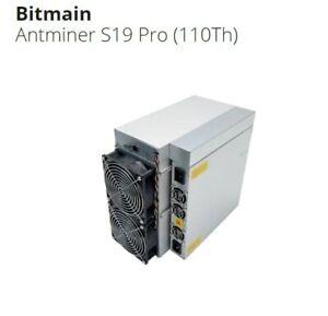ASIC Bitmain Antminer S19 Pro (110Th)