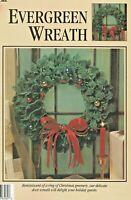 Evergreen Wreath Christmas Greenery Crochet Pattern Instruction Leaflet LA83082