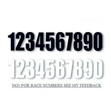 ".Stickers .numbers 6"" numbers race numbers Sticky  motocross numbers  //"