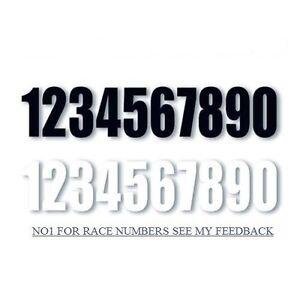 WHEELIE BIN NUMBERS WHEELY BIN, NUMBERS DUSTBIN, WHITE SELF ADHESIVE numbers --.
