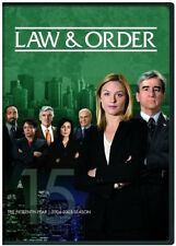 Law & Order: The Fifteenth Year [New DVD] Boxed Set, Snap Case