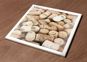 Ceramic Hot Plate kitchen Trivet Holder cork wine stopper close heap plugs gift
