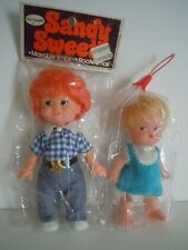 RARE FRECKLES FACES DOLLS 1970'S FUN WORLD DOLL COWGIRL COUNTRY GIRL SANDY SWEET