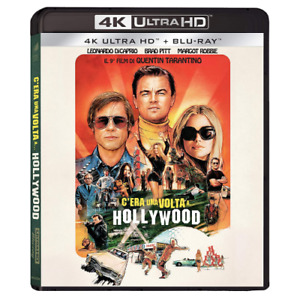 C'ERA UNA VOLTA A HOLLYWOOD (4K UHD+Blu-ray)
