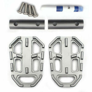 Gray Rear Foot Brake Pedal Peg Pad Plate Extension Enlarge For BMW G310GS 2018