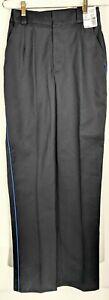 Horace Small (Lot of 3) Womens TSA Uniform Pants Blue Stripe Size 6 Regular 34