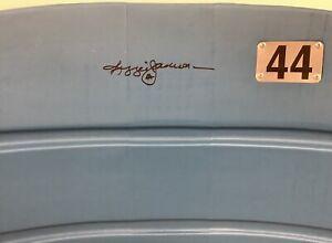Reggie Jackson Signed Baseball SeatBack #44 NY Yankee Stadium Autograph HOF JSA