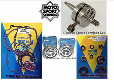 KX 85 01-05 Mitaka Bottom End Engine Rebuild Kit Crank Mains Gasket & Seal Kit