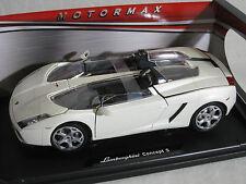 Motor Max 1/18 Lamborghini Concept S  WHITE  79156   MMX004