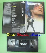 VHS film ROCKY V Sylvester Stallone 1997 Talia Shire MGM TUTTOSPORT (F48) no dvd