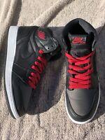 """Nike Air Jordan 1 Retro High OG """"Black Satin"""" Men's Size 7, 575441-060"""