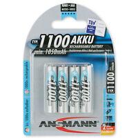 Ansmann Digital NiMH Akku Micro AAA Typ 1100 min. 1050mAh 4er Blister 5035232