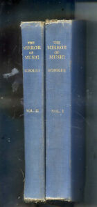 The Mirror of Music 'Musical Times' 1844-1944 by Percy A Scholes 2 Volume Set