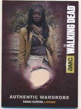 Walking Dead Season 4 Part 1 Authentic Wardrobe Card M-09 Michonne