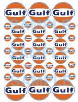 GULF Water-slide decals  Slot Car  1/32, 1/24, or 1/18 rc