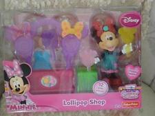Disney Minnie Lollipop Shop Scented Minnie Figure With 12 Play Pieces