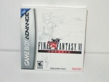 Final Fantasy VI Advance Gameboy Advance **CASE ONLY** Nintendo