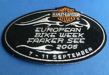 RARE HARLEY DAVIDSON European Bike Week 2005 Patch Faaker See