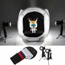 Studio Lamp with Stand *2 + Socket Adapter *2 + Light Room Tent Soft Box Cube