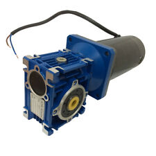 DC 12V Worm Boxing Geared Motor 100W Power Electric Gear Motor Head Large Torque