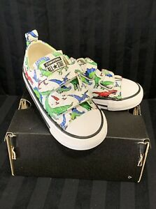 Converse 8 Bit Dino Easy On Chuck Taylor All Star White Green Blue Toddler 6