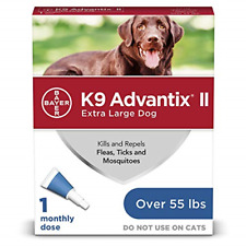K9 advantix Ii Flea and Tick Prevention for Extra-Large Dogs, Over 55 Pounds,