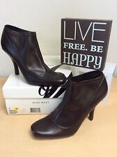 NINE WEST (Sophisto) Women's Dark Brown Ankle Boots- Size 7M New