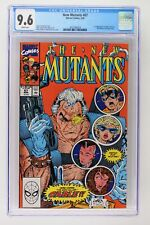 New Mutants #87 - Marvel 1990 CGC 9.6 1st Appearance of Cable & Stryfe!