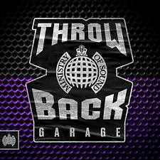 Ministry of Sound - Throwback Garage (3 CD) Various Artists - NEW SEALED