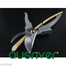 "8"" Premium SK5 Garden Pruning Pruner Scissor Branch Shrub Tree Fruit ShearTool"